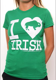 Irish kelly green unisex t-shirt